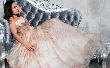 イブニングドレス作成におすすめな布